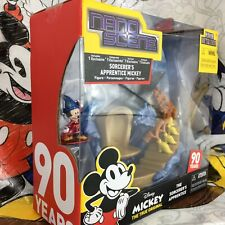🎁 Disney Mickey Mouse Sorcerer's Apprentice Figure Set ~ 90th Birthday Edition