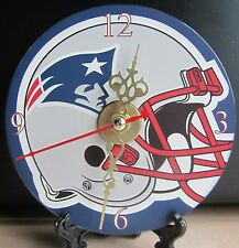 Brand New - New England Patriots Helmet CD Clock NFL Football AFC Sports