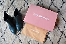 Acne Jensen Boots Emerald Green Retail $560 Size 37