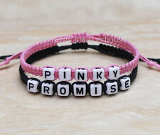 Couples Bracelet His Hers Pinky Promise Loves Bracelet Personalized Gifts
