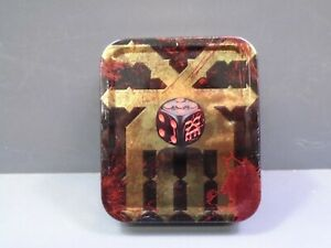 Games Workshop Limited Edition Khorne End Times Dice Tin EMPTY