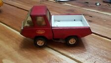 Tonka Vintage Metal Toy Pickup Truck Red Decal