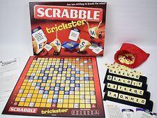 Scrabble Trickster Board Game Mattel VGC 100% Complete