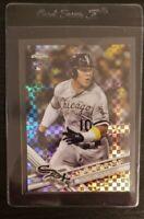 2011 Topps Chrome Yoan Moncada X Fractor Rookie Chicago White Sox