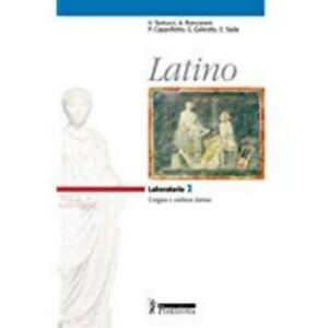 latino Laboratorio 2, poseidonia, tantucci/roncoroni, cod:9788848201087