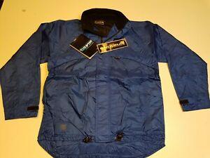 Endura Airzone Jacket leichte Fahrrad Jacke Radsport Fahrradsport Blau Größe L