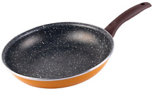 Bergner 28cm Non Stick Frying Pan. Induction. Enameled Steel. Marble Non Stick