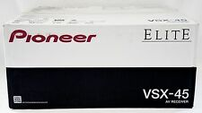 NEW SEALED Pioneer Elite VSX-45 Bluetooth A/V Receiver 5.2-Channel Wi-Fi HDMI