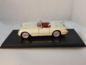 1/43 O scale Road champs 1953 Chevrolet Corvette in error box