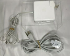 Genuine OEM Apple 85W Magsafe Portable Power Adapter A1343 w/ Extension Cord