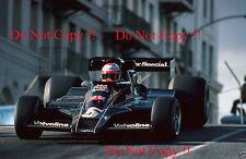 Mario Andretti JPS Lotus 78 Winner USA West Grand Prix 1977 Photograph 3
