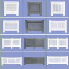 Radiator Cover White Grey Modern Traditional Wood Grill Cabinet Furniture MDF UK