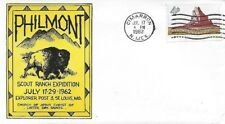 Philmont Cachet July 17 - 29 1962 Explorer Post 3 St. Louis MO