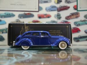 Brooklin 1/43 Scale BRK7 006 1934 Chrysler Airflow 4Dr Sedan Royal Blue