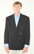 Men's Couture Designer Yves Saint Laurent YSL Double Breast Blazer Jacket 42