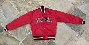 Vintage Georgia Bulldogs Starter Satin College Jacket, Size Small