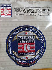 MLB Official HOF Hall of Fame Mission Statement Patch