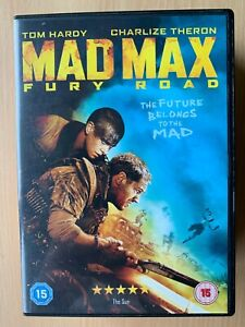 Mad Max Fury Road DVD 2015 Sci-Fi Action Movie 4 w/ Tom Hardy + Charlize Theron