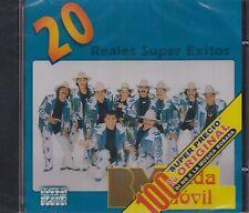 Banda Movil 20 Reales Super Exitos CD New Nuevo Sealed