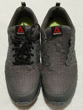 Reebok Steel Toed Shoes Mens 10M Gray Worn But Still Good Shoes