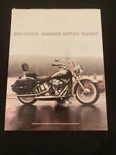 2003 HARLEY DAVIDSON 100TH HERITAGE SOFTAIL CLASSIC FLSTC BROCHURE SPEC SHEET