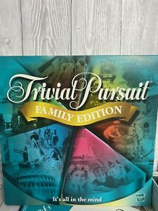 Hasbro - Trivial Pursuit Family Edition Game (2006) One Pack Still Sealed!
