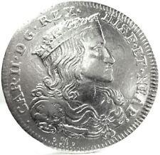NAPOLI (Carlo II di SPAGNA) Tari da 20 Grana 1699