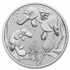 AUSTRALIE 2 Dollars Argent Piedfort 2 Onces Ornithorynque 2021