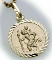 Anhänger Christopherus  333 Gold Christophorus 8kt Qualität Gelbgold Unisex