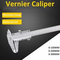 Pied À Coulisse Digital Numérique Micromètre Acier Vernier 150mm 200mm 300mm