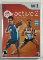 EA Sports Active 2 Personal Trainer Software Game Only (Nintendo Wii, 2010) NEW