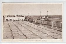 Open Air Swimming Pool Westcliff On Sea Essex Tuck's Postcard Postally Unused