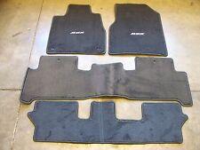 Genuine OEM 2007-2009 Acura MDX Graphite Black  Carpet Floor Mats Set