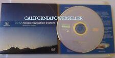 HONDA ACURA 2012 Navigation Map DVD UPDATE DISC VERSION 4.A2 WHITE LABEL GPS CD