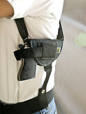 Sig Sauer P238 | Nylon Horizontal Shoulder Holster with Double Mag Pouch
