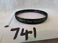 Canon quality  55mm Skylight filter x1, excellent. genuine original clean