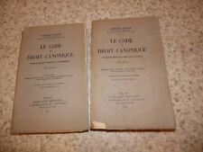 1942.Code de droit canonique.2/3.Adrien Cance