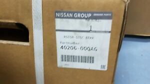 GENUINE NEW NISSAN PRIMASTAR VIVARO TRAFIC  FRONT BRAKE DISCS 40206 00QAG