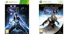 STAR Wars Il Forza Unleashed Ultimate Sith Edition & 2 Xbox 360 formato PAL