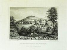 c1860 Wunsiedel Katharinenberg Stahlstich-Ansicht