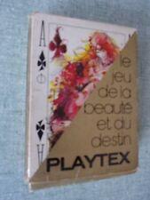 JEU DE CARTES PUBLICITAIRE SEXY PLAYTEX LINGERIE – JAMES HODGES - GRIMAUD 1971
