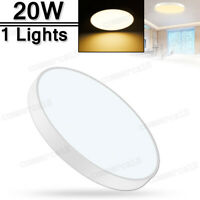 LED Ceiling Light 20W Ultra Thin Flush Mount Kitchen Lamp Home Fixture 3000K