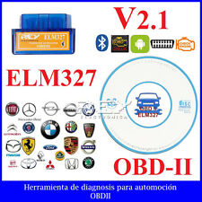 Mini ELM327 Interfaz V2.1 Bluetooth OBD2 Análisis Diagnosis Coche Vehículo m74