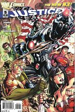Justice League # 5 New 52 N52 Regular Cover NM DC (2011)