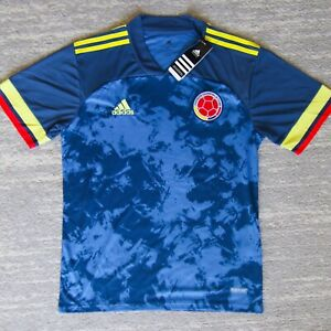 New Mens Adidas Colombia Soccer Away Jersey