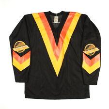 NHL CCM Vintage Vancouver Canucks Hockey Trikot Sport Jersey Herren Shirt-L