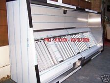 Kitchen Extraction Canopy/Hood 2.5 Mtr (304) Baffle Filters Complies to DW172