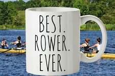 Rower Mug Best Rower Ever Rower Gifts Coxswain Gift Rowing Mug Gift For Rowers