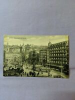 "Vintage ~ Spain Bilbao - Boulevard del Arenal c. 1930s Post Card 5.5"" x 3.5"" B/W"