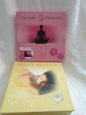 Wellness Entspannung 2 div. Relax-Sets : CD  jeweils mit Kerzen NEU Nur PayPal!